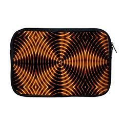 Fractal Patterns Apple Macbook Pro 17  Zipper Case by Simbadda