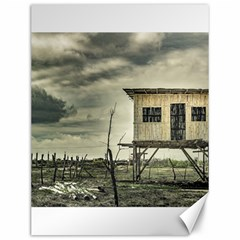 Traditional Cane House At Guayas District Ecuador Canvas 12  X 16   by dflcprints