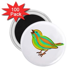 Bird 2 25  Magnets (100 Pack)  by Valentinaart