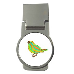 Bird Money Clips (round)  by Valentinaart