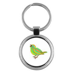 Bird Key Chains (round)  by Valentinaart