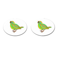 Bird Cufflinks (oval) by Valentinaart