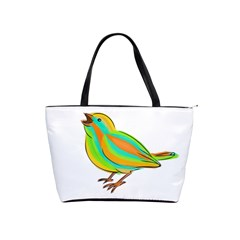 Bird Shoulder Handbags by Valentinaart