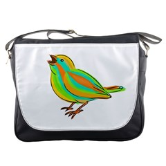 Bird Messenger Bags by Valentinaart