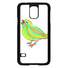 Bird Samsung Galaxy S5 Case (black) by Valentinaart