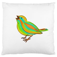 Bird Standard Flano Cushion Case (one Side) by Valentinaart
