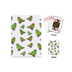 Birds Playing Cards (mini)  by Valentinaart