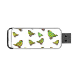 Birds Portable Usb Flash (one Side) by Valentinaart