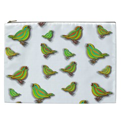 Birds Cosmetic Bag (xxl)  by Valentinaart