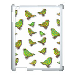 Birds Apple Ipad 3/4 Case (white) by Valentinaart