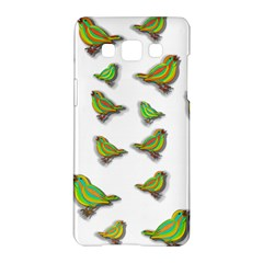 Birds Samsung Galaxy A5 Hardshell Case  by Valentinaart
