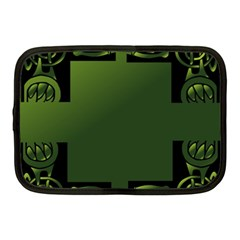 Celtic Corners Netbook Case (medium)  by Simbadda