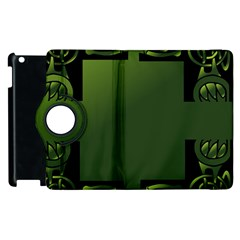 Celtic Corners Apple Ipad 2 Flip 360 Case by Simbadda