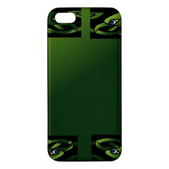 Celtic Corners Apple Iphone 5 Premium Hardshell Case by Simbadda