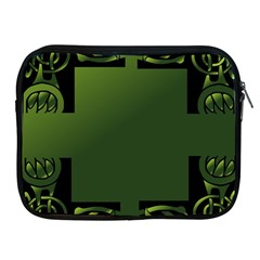 Celtic Corners Apple Ipad 2/3/4 Zipper Cases by Simbadda