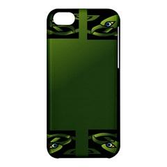 Celtic Corners Apple Iphone 5c Hardshell Case by Simbadda