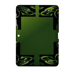 Celtic Corners Samsung Galaxy Tab 2 (10 1 ) P5100 Hardshell Case  by Simbadda