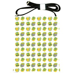 St Patrick s Day Background Symbols Shoulder Sling Bags by Simbadda