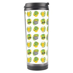 St Patrick s Day Background Symbols Travel Tumbler by Simbadda