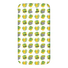 St Patrick s Day Background Symbols Samsung Galaxy Mega I9200 Hardshell Back Case by Simbadda