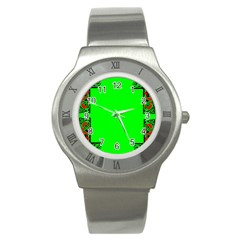 Decorative Corners Stainless Steel Watch by Simbadda