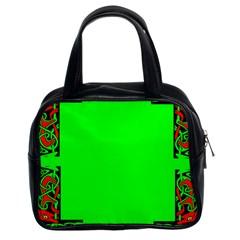 Decorative Corners Classic Handbags (2 Sides) by Simbadda