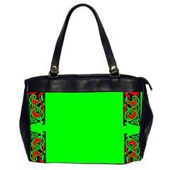 Decorative Corners Office Handbags (2 Sides)  by Simbadda