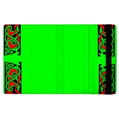 Decorative Corners Apple Ipad 3/4 Flip Case by Simbadda
