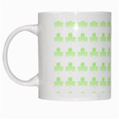 Shamrock Irish St Patrick S Day White Mugs by Simbadda
