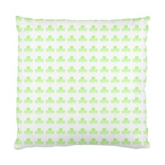 Shamrock Irish St Patrick S Day Standard Cushion Case (two Sides) by Simbadda