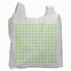 Shamrock Irish St Patrick S Day Recycle Bag (two Side)  by Simbadda