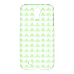 Shamrock Irish St Patrick S Day Samsung Galaxy S4 I9500/i9505 Hardshell Case by Simbadda