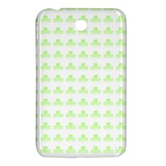 Shamrock Irish St Patrick S Day Samsung Galaxy Tab 3 (7 ) P3200 Hardshell Case  by Simbadda