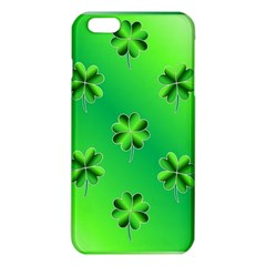 Shamrock Green Pattern Design Iphone 6 Plus/6s Plus Tpu Case by Simbadda