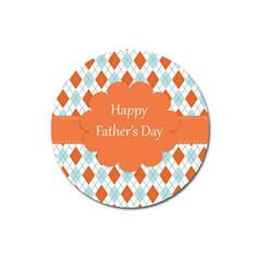Happy Father Day  Magnet 3  (round) by Simbadda