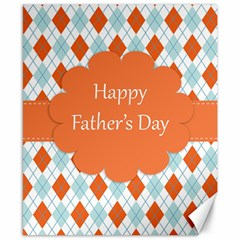 Happy Father Day  Canvas 8  X 10  by Simbadda