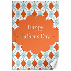 Happy Father Day  Canvas 20  X 30   by Simbadda