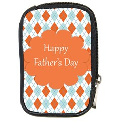 Happy Father Day  Compact Camera Cases by Simbadda