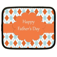 Happy Father Day  Netbook Case (xxl)  by Simbadda
