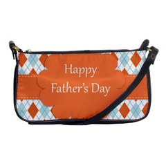 Happy Father Day  Shoulder Clutch Bags by Simbadda