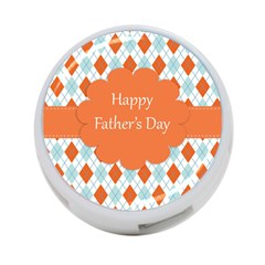Happy Father Day  4 Port Usb Hub (one Side) by Simbadda