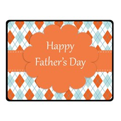 Happy Father Day  Fleece Blanket (small) by Simbadda