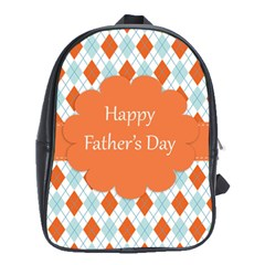 Happy Father Day  School Bags (xl)  by Simbadda