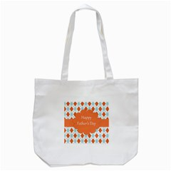 Happy Father Day  Tote Bag (white) by Simbadda