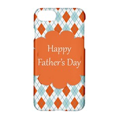 Happy Father Day  Apple Iphone 7 Hardshell Case by Simbadda