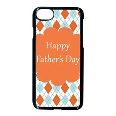 Happy Father Day  Apple Iphone 7 Seamless Case (black) by Simbadda