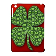 Shamrock Irish Ireland Clover Day Apple Ipad Mini Hardshell Case (compatible With Smart Cover) by Simbadda