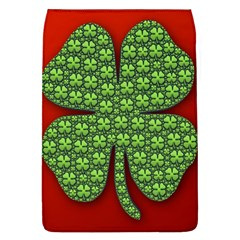 Shamrock Irish Ireland Clover Day Flap Covers (l)  by Simbadda