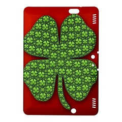 Shamrock Irish Ireland Clover Day Kindle Fire Hdx 8 9  Hardshell Case by Simbadda