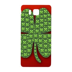 Shamrock Irish Ireland Clover Day Samsung Galaxy Alpha Hardshell Back Case by Simbadda